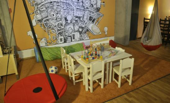 Fabryka Pizzy restauracja dla dzieci Warszawa