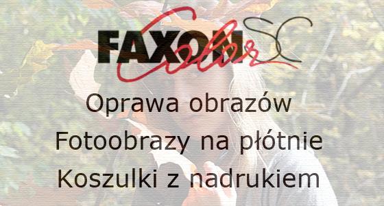 Faxon wydruki na płótnie, oprawa obrazów