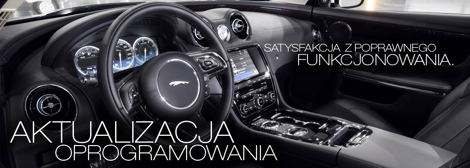 Jaguar diagnostyka oprogramowania