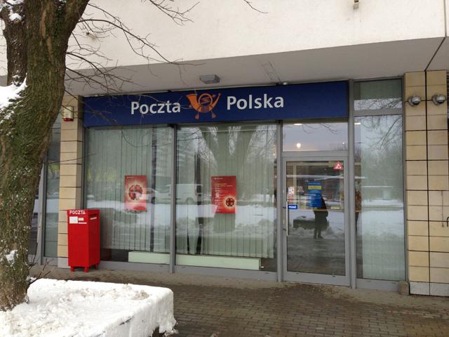 Poczta - Obrzeżna Bokserska