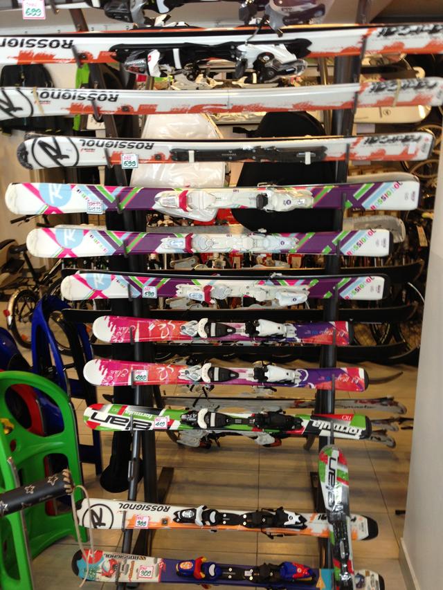 sprzęt narciarski dla dzieci
