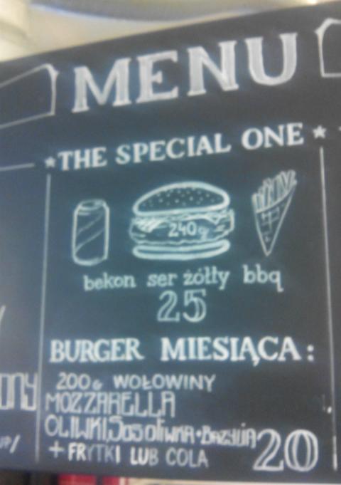 Wild Beef menu burger marca