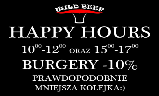 hamburgery happy hours