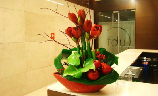 Four Seasons - kwiaty do biur