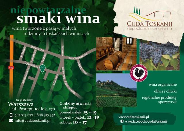 Cuda Toskanii oficjalne otwarcie