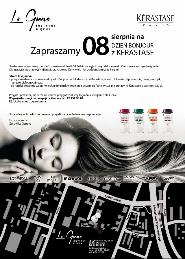 La Geneve salon piękności Mokotów