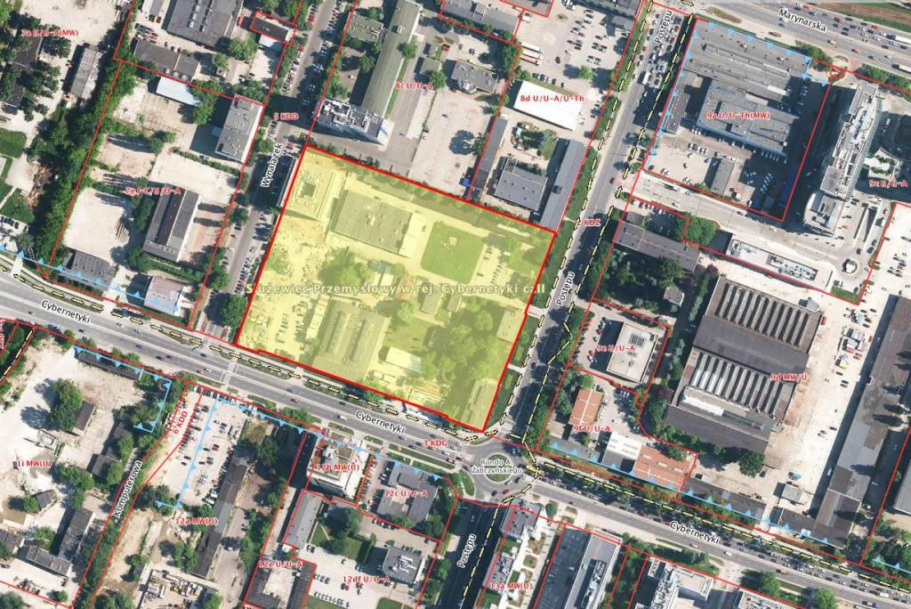 Miejscowy plan zagospodarowania przestrzennego Sużewca Przemysłowego w rejonie ulicy Cybernetyki