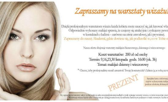 Antonio Rosselli - warsztaty wizażu: makijaż dzienny i wieczorowy