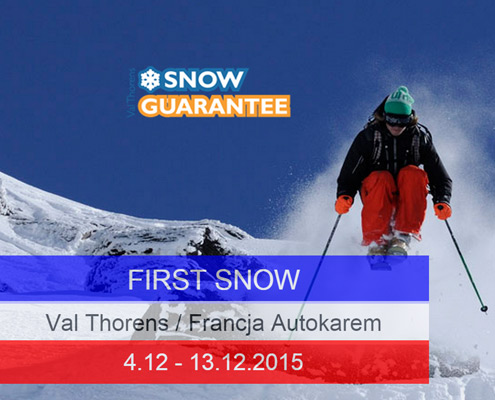 First Snow Val Thorens